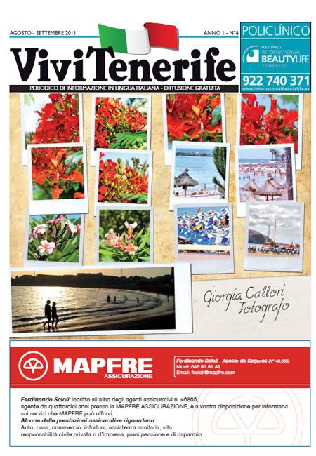 Vivi Tenerife numero 4 Anno 1 di Agosto Settembre 2011