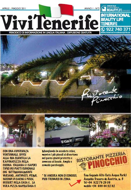 Vivi Tenerife numero 2 Anno 1 di Aprile Maggio 2011