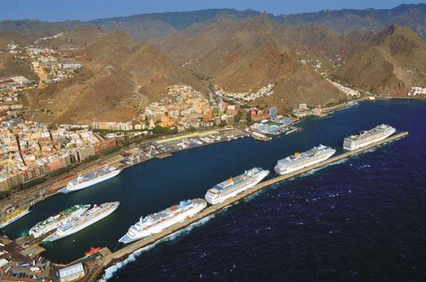 Santa Cruz cuarto puerto de cruceros de España
