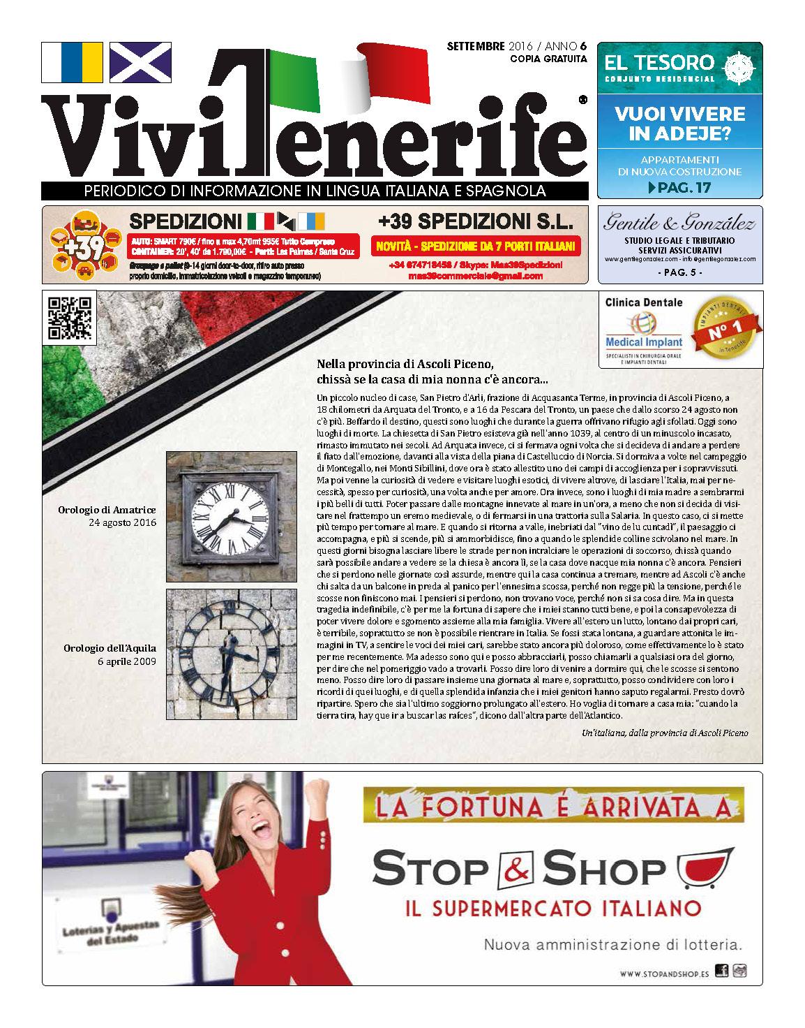 ViviTenerife Agosto 2016