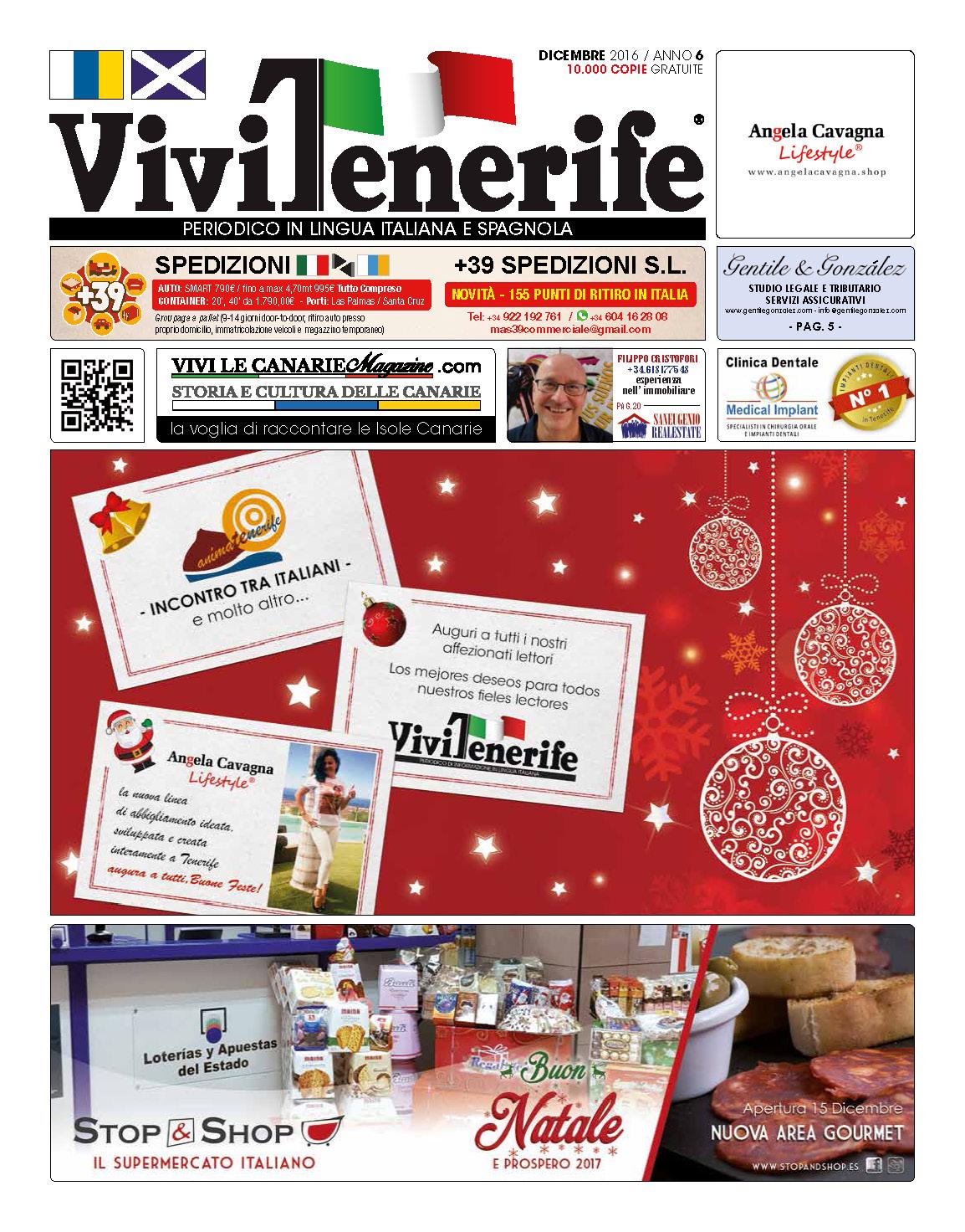 ViviTenerife Dicembre 2016