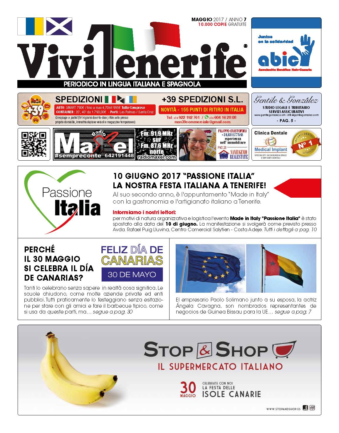 ViviTenerife Maggio 2017
