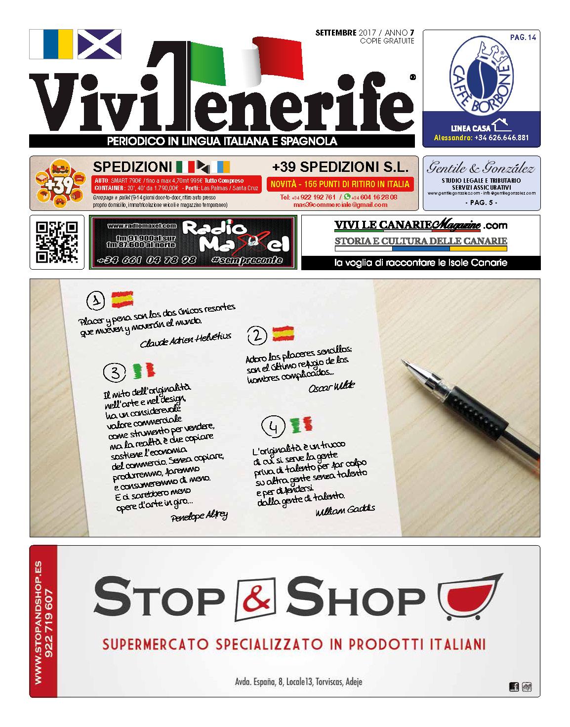 ViviTenerife Settembre 2017