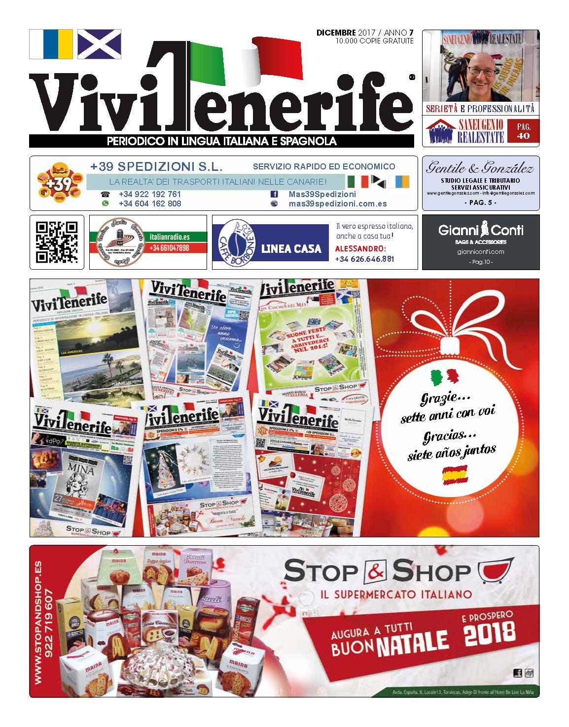 ViviTenerife Dicembre 2017