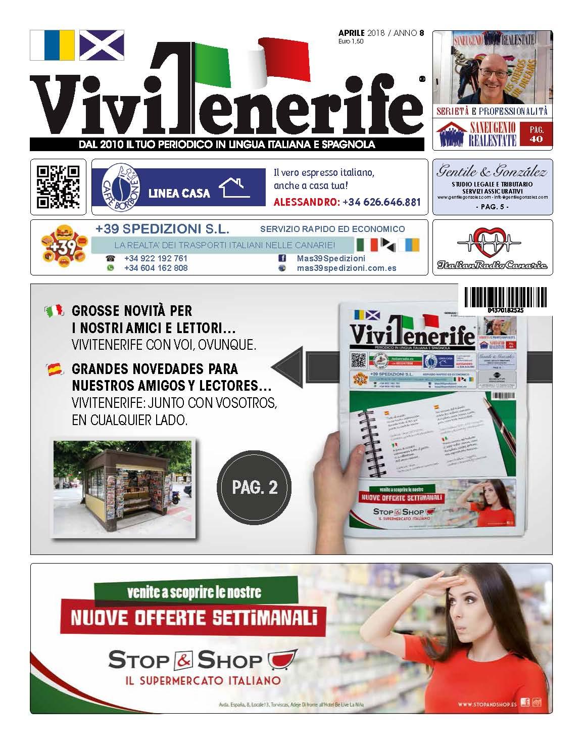 ViviTenerife Aprile 2018