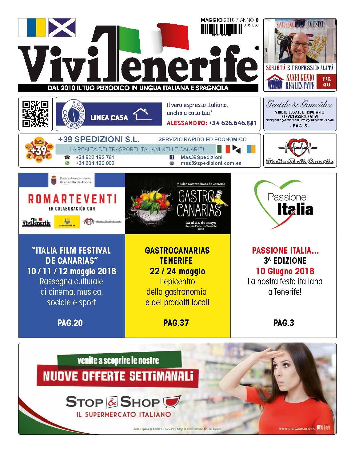 ViviTenerife Maggio 2018