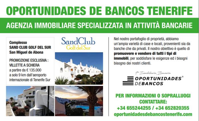 Tenerife golf del sur vendita villette a schiera da for Case a tenerife in vendita