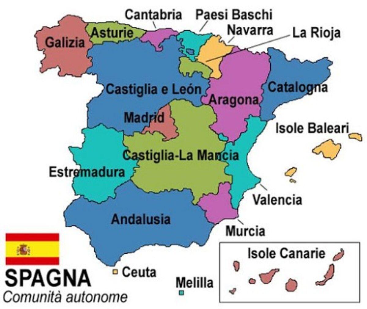 Spagna E Isole Baleari Cartina.Spagna In Quali Giorni Si Puo Viaggiare Tra Le Regioni A Natale Vivilecanarie