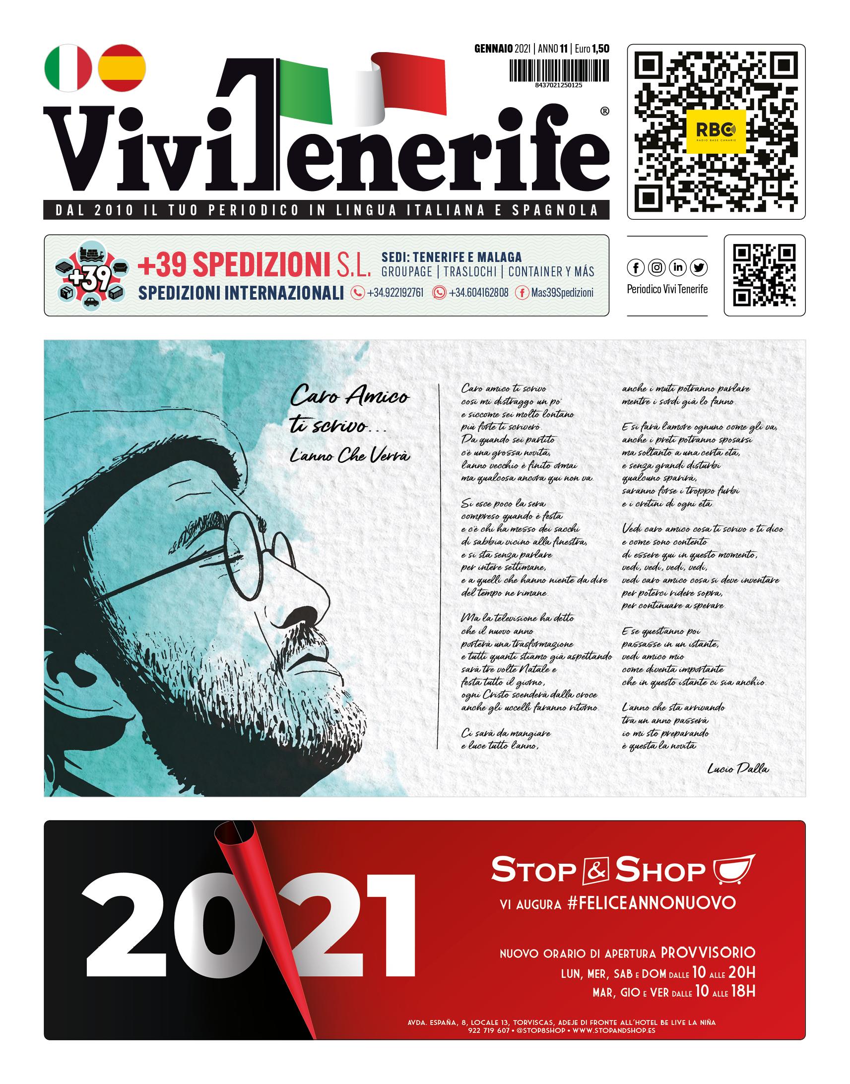 PERIODICO VIVIVTENERIFE GENNAIO 2021